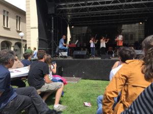 Les élèves en concert